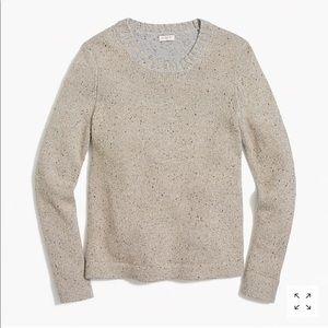 J. Crew Lurex Classic Crewneck Sweater